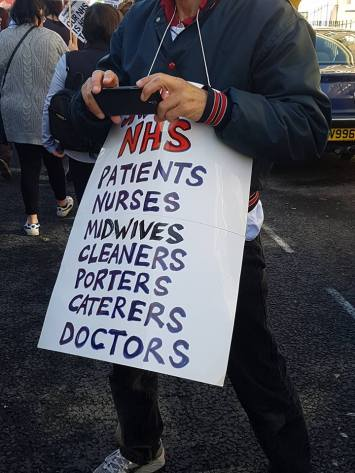 midwives cleaners etc