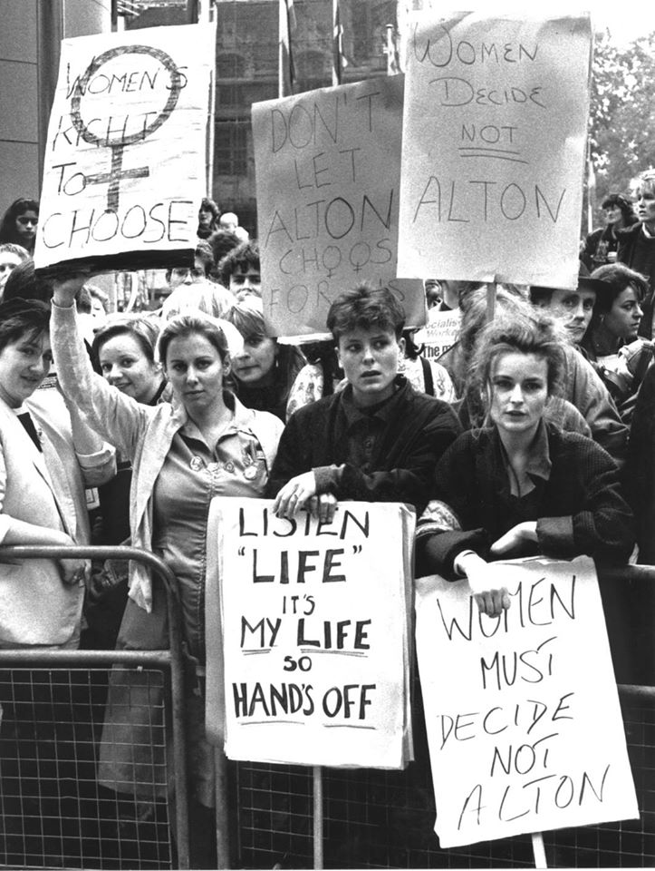 1987 camapigns for abortionn rights